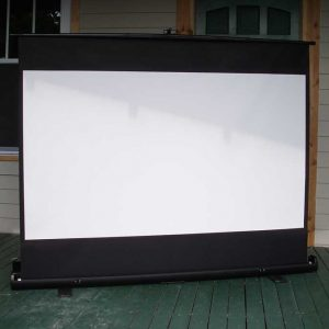 Large EZ-UP Projector Screen