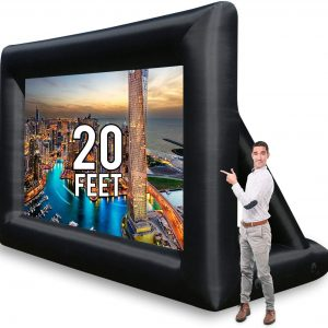 Large 20' Inflatable Screen Rental