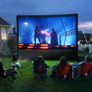 Movie Night Screen Rental