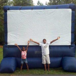 Backyard Movie Night Screen