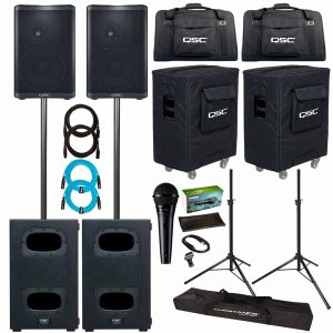 Full Speaker Gear Rental