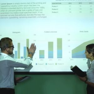 Projector Screen rental for Corporate Meeting