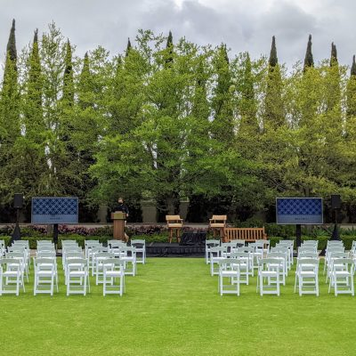 TVs for Outdoor Event